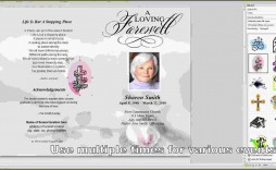 008 Awesome Free Funeral Pamphlet Template High Definition  Word Simple Program Download Psd