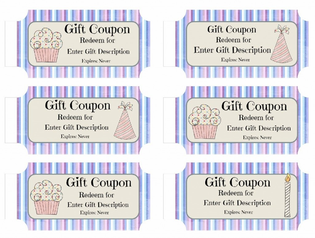 008 Awesome Free Printable Birthday Gift Voucher Template High Def Large