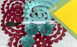 008 Awesome Free Rolled Paper Flower Template For Cricut Example