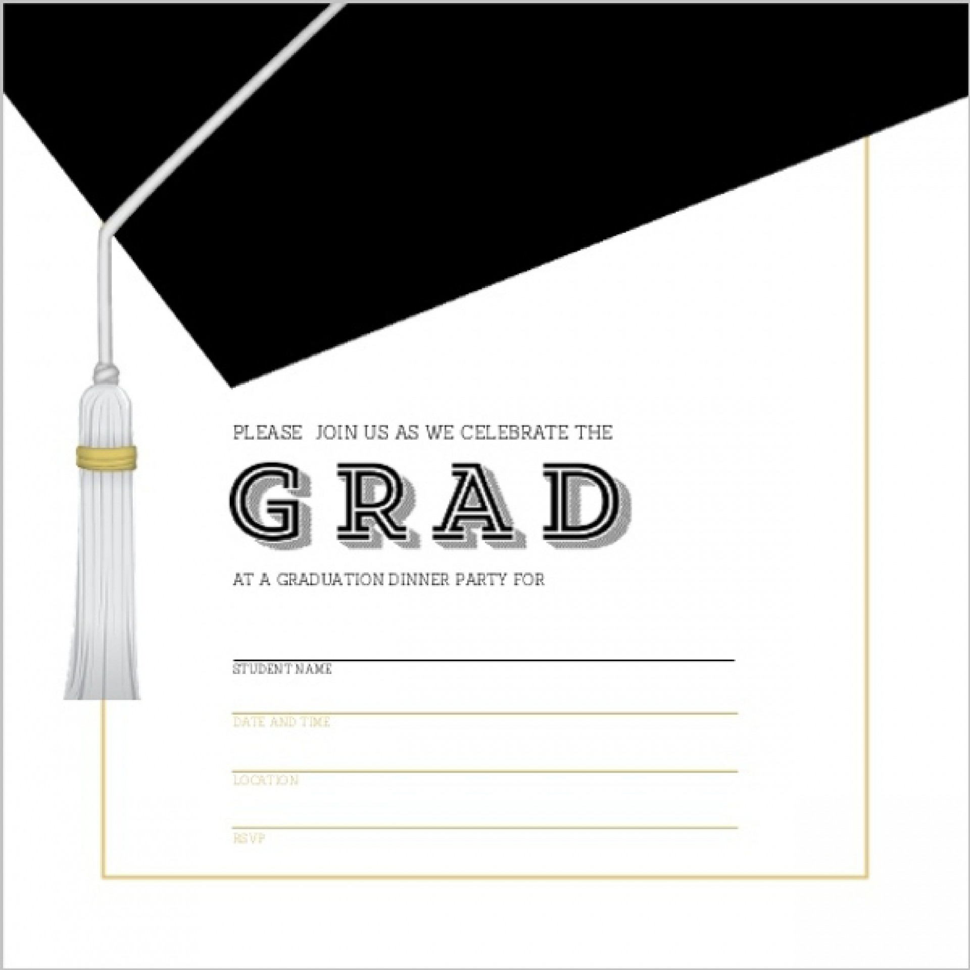 008 Awesome Graduation Invitation Template Free Picture  Maker Download Kindergarten1920