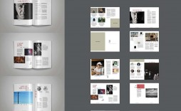 008 Awesome Indesign Template Free Download Design  Portfolio Indd Magazine Adobe Book
