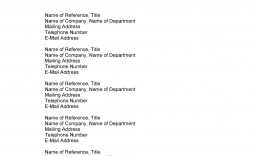 008 Awesome List Of Job Reference Example High Resolution  Format Employment