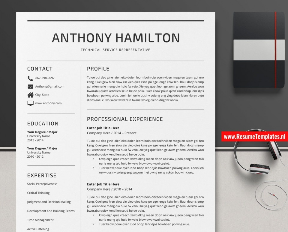 008 Awesome Microsoft Word Resume Template Sample  Reddit 2019 2010 Free Download960