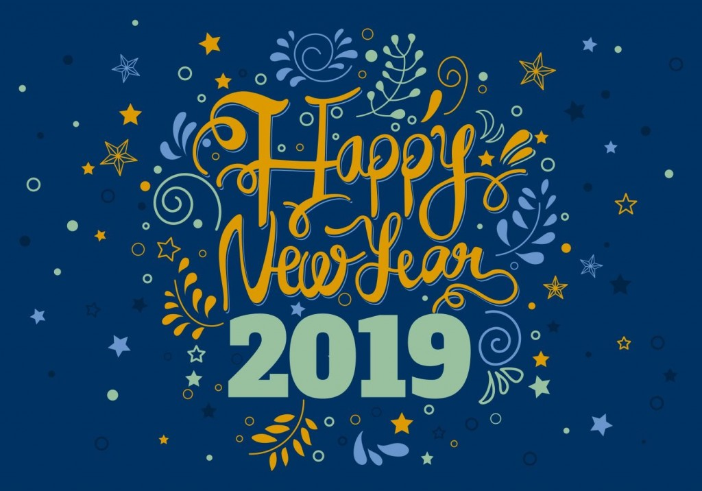 008 Awesome New Year Card Template Design  Happy Chinese 2020 FreeLarge