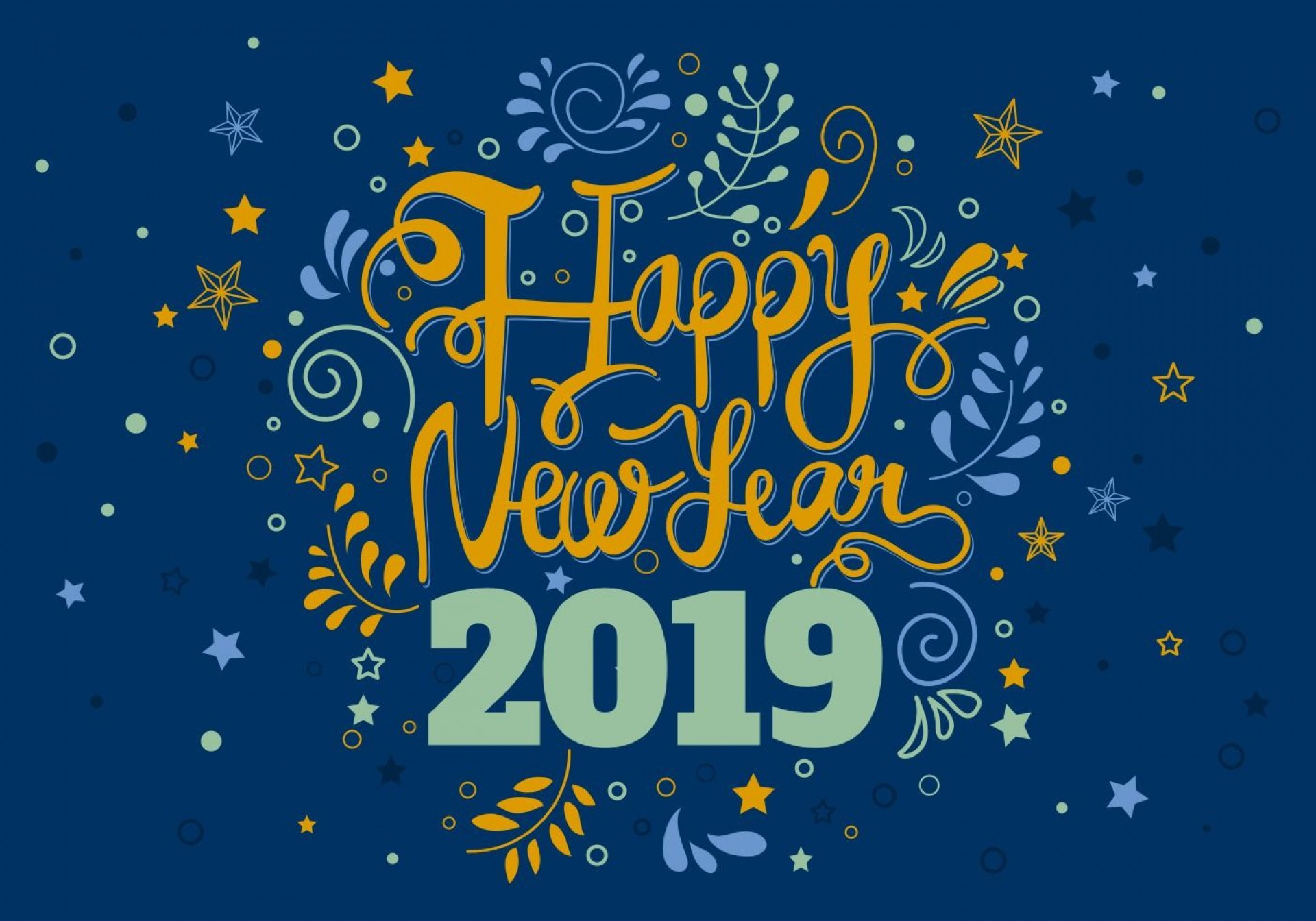 008 Awesome New Year Card Template Design  Happy Chinese 2020 Free1920