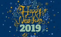008 Awesome New Year Card Template Design  Happy Chinese 2020 Free