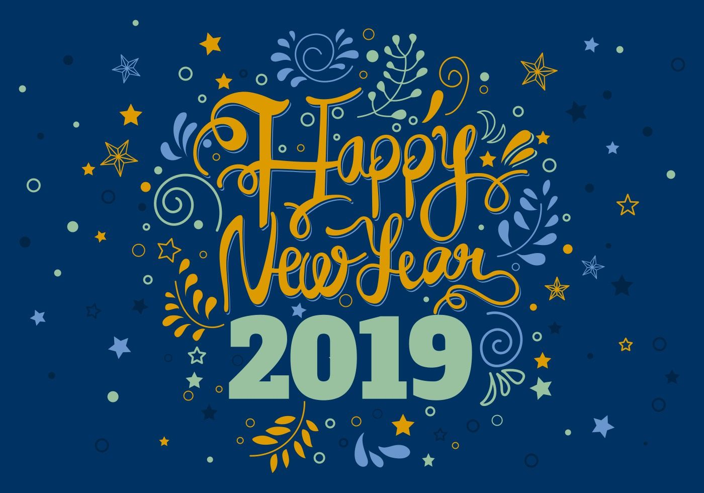 008 Awesome New Year Card Template Design  Happy Chinese 2020 FreeFull