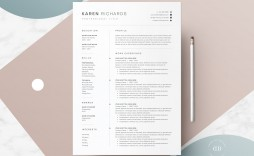 008 Awesome One Page Resume Template Picture  Templates Microsoft Word Free