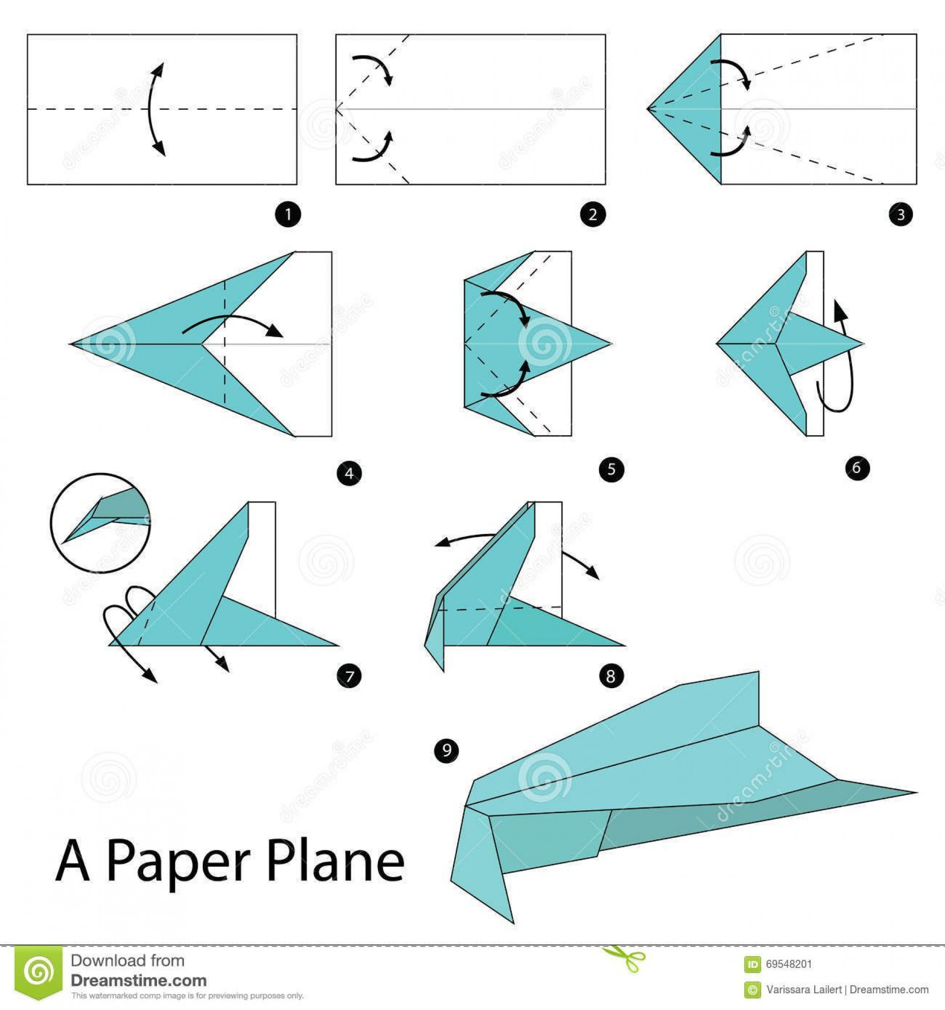 008 Awesome Printable Paper Plane Plan Design  Plans Airplane Free Instruction1920