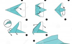 008 Awesome Printable Paper Plane Plan Design  Plans Airplane Free Instruction