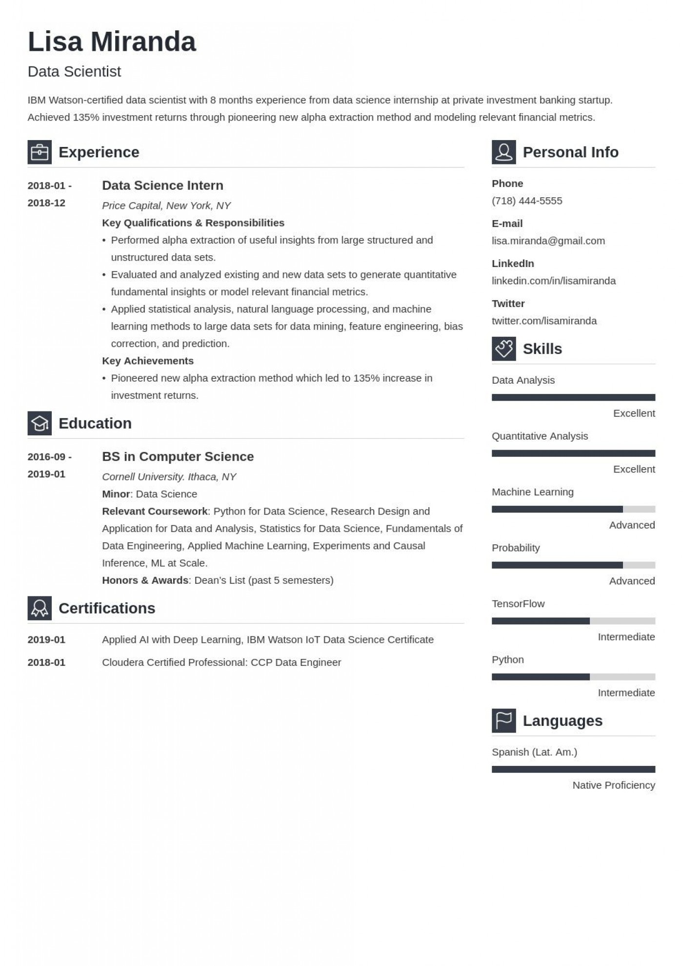 008 Awesome Recent College Graduate Resume Template Highest Clarity  Word1400