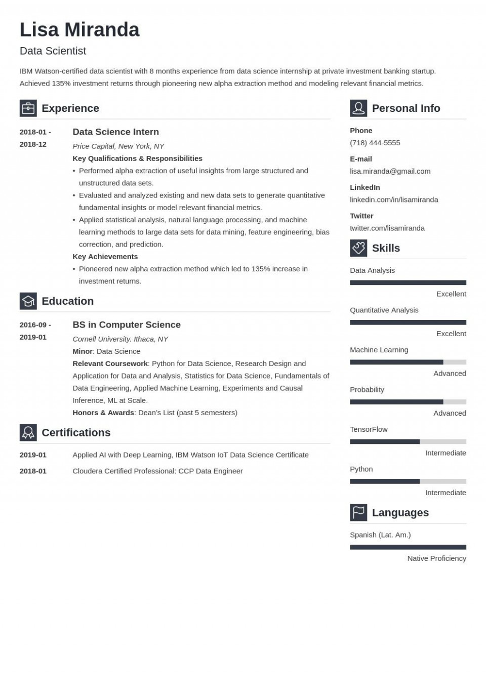 008 Awesome Recent College Graduate Resume Template Highest Clarity  Word960
