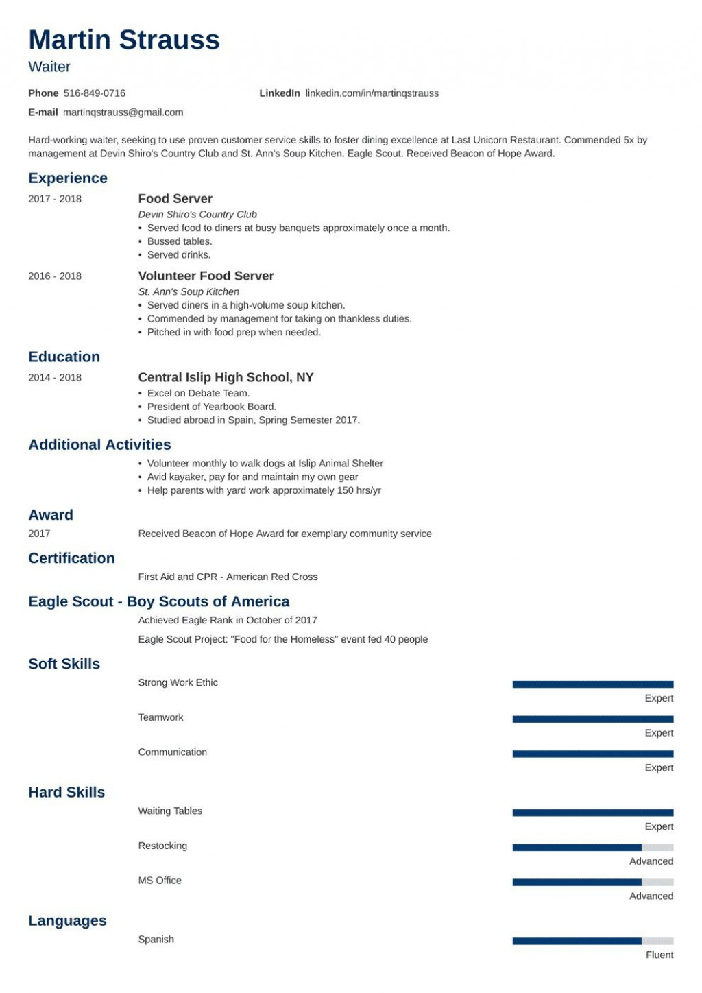 008 Awesome Resume Template For Teen Picture  TeensLarge
