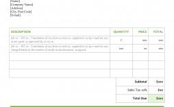 008 Awesome Self Employed Invoice Template Uk Pdf Sample