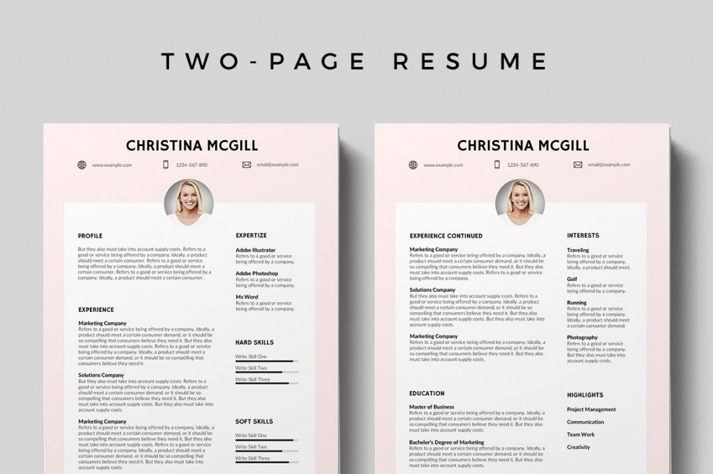 008 Awful Adobe Photoshop Resume Template Free Picture  DownloadLarge