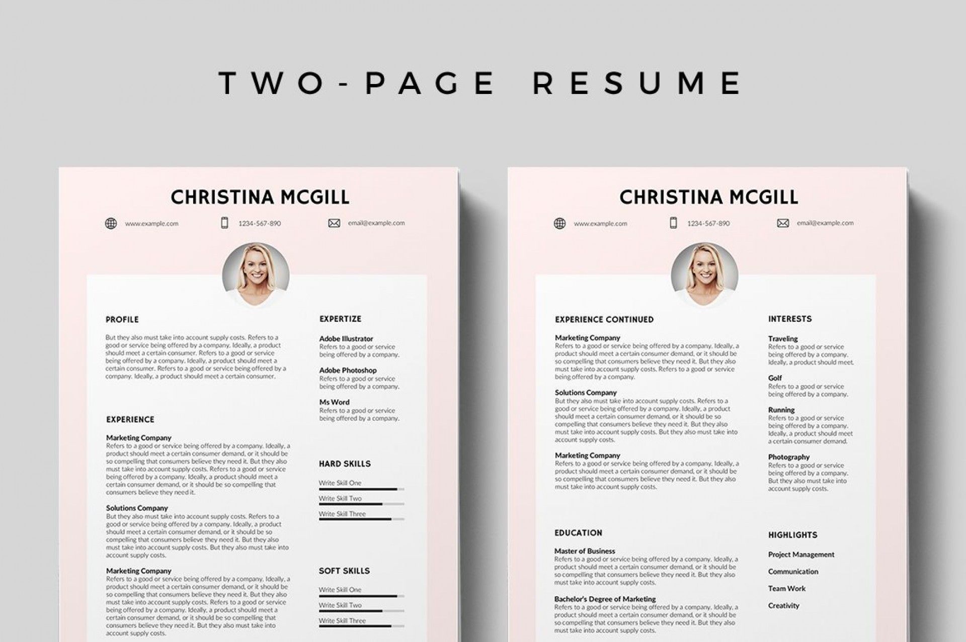 008 Awful Adobe Photoshop Resume Template Free Picture  Download1920