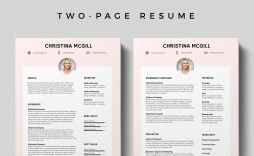 008 Awful Adobe Photoshop Resume Template Free Picture  Download