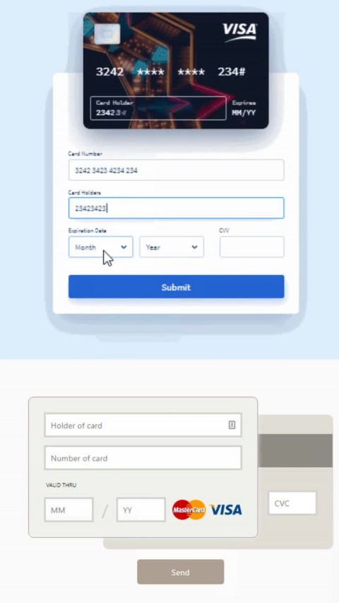 008 Awful Credit Card Form Template Html Example  Payment Cs480