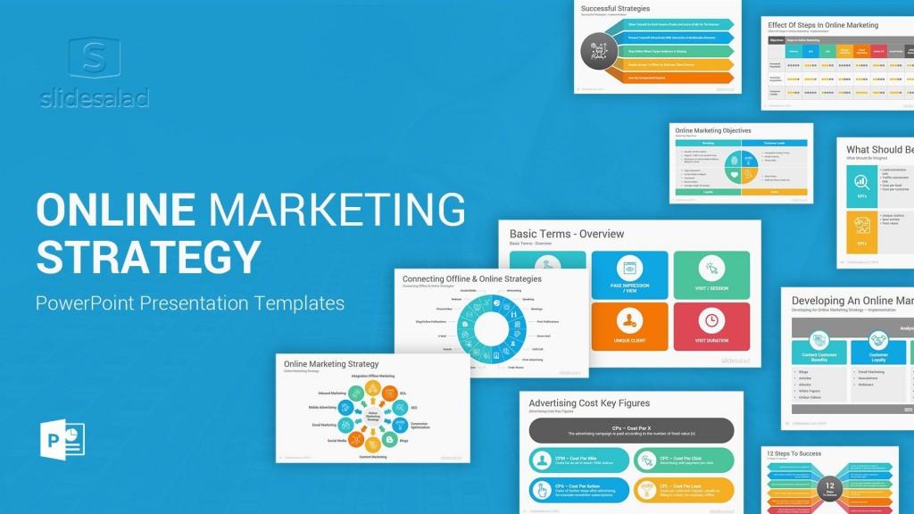 008 Awful Digital Marketing Plan Template Ppt High Def  Presentation Free SlideshareLarge