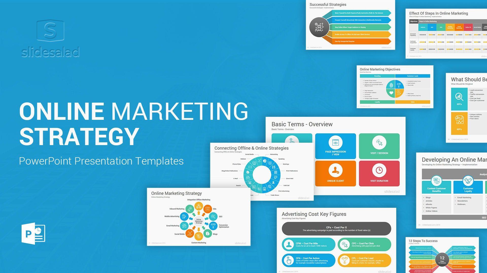 008 Awful Digital Marketing Plan Template Ppt High Def  Presentation Free SlideshareFull
