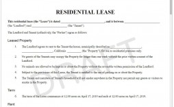 008 Awful Landlord Contract Template Free Example  Rental Simple Flat Resident Tenancy Agreement