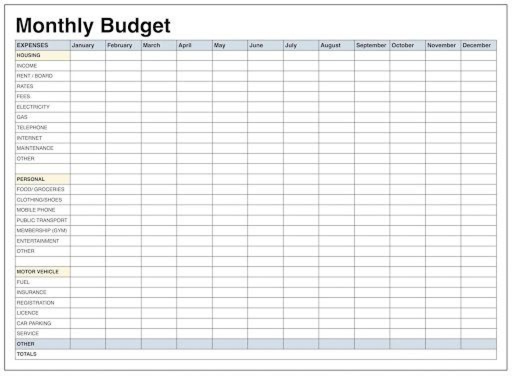 008 Awful Personal Expense Spreadsheet Excel Template Picture  Monthly BudgetLarge