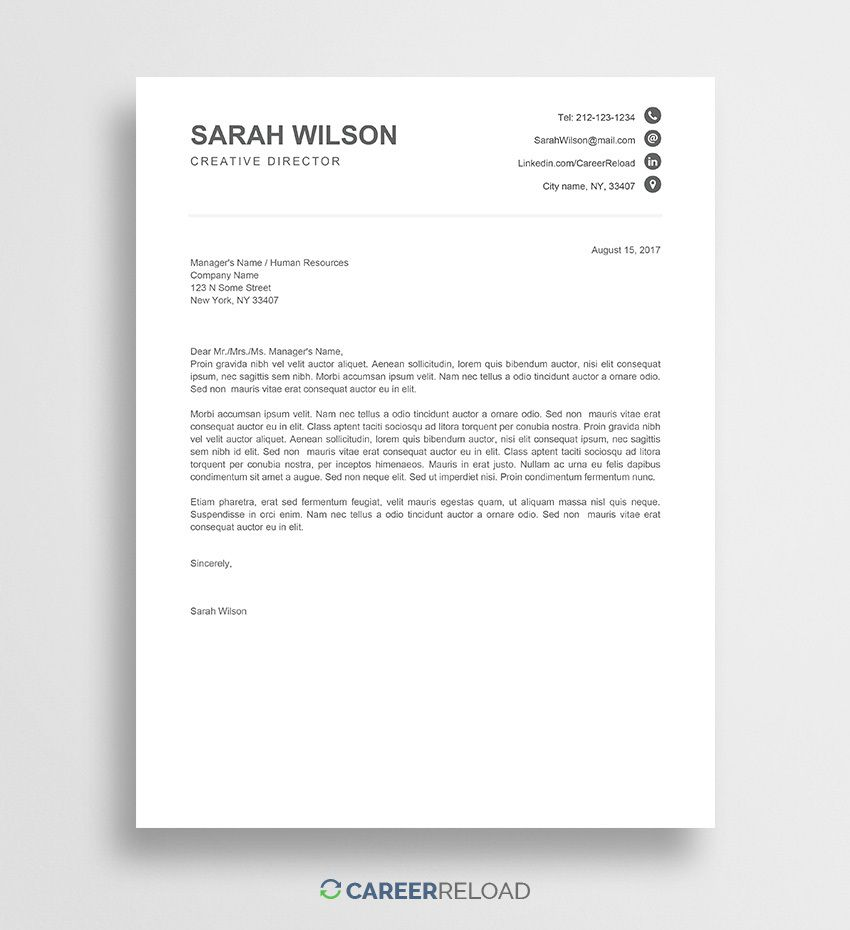 008 Awful Resume Cover Letter Template Docx Example Full