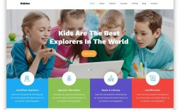 008 Awful School Website Html Template Free Download Concept  Responsive With Cs Jquery