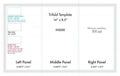 008 Awful Tri Fold Table Tent Template Sample  Card Word Free480