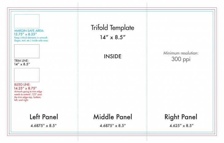 008 Awful Tri Fold Table Tent Template Sample  Card Word Free728