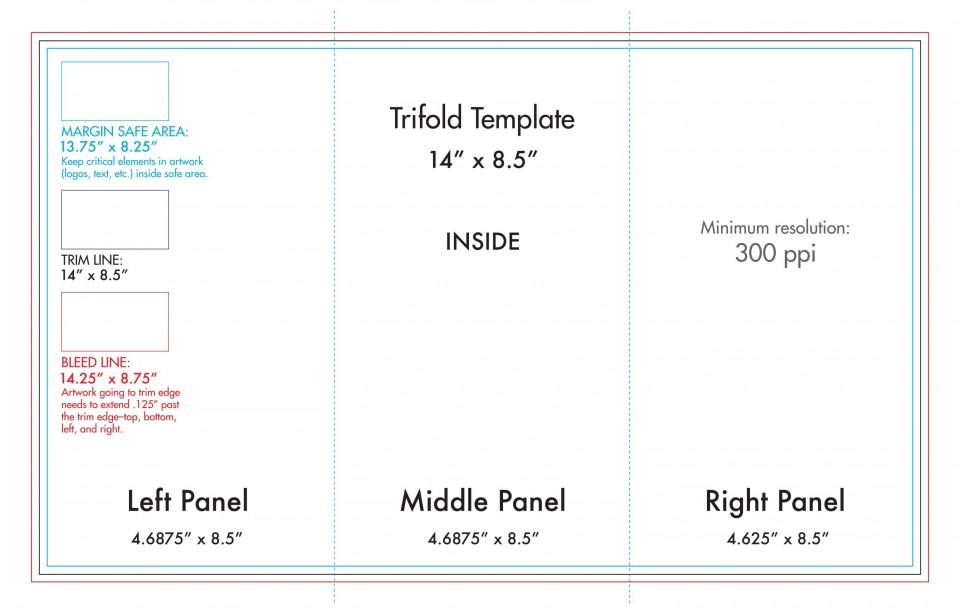 008 Awful Tri Fold Table Tent Template Sample  Free Word960