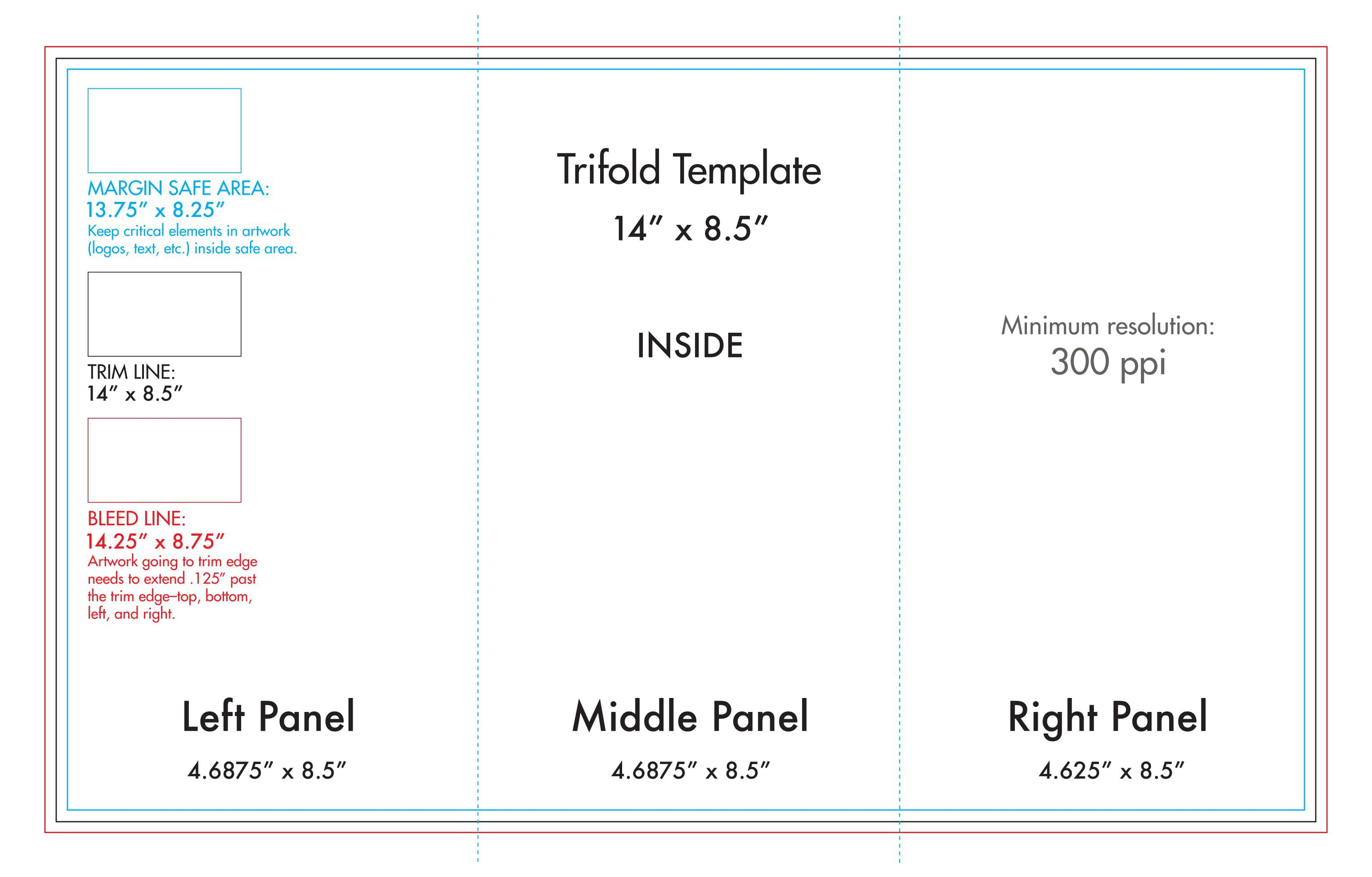 008 Awful Tri Fold Table Tent Template Sample  Card Word FreeFull