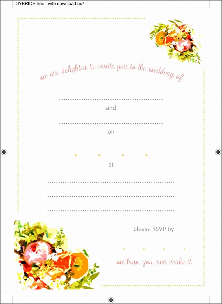 008 Beautiful Blank Birthday Invitation Template For Microsoft Word High Definition 728