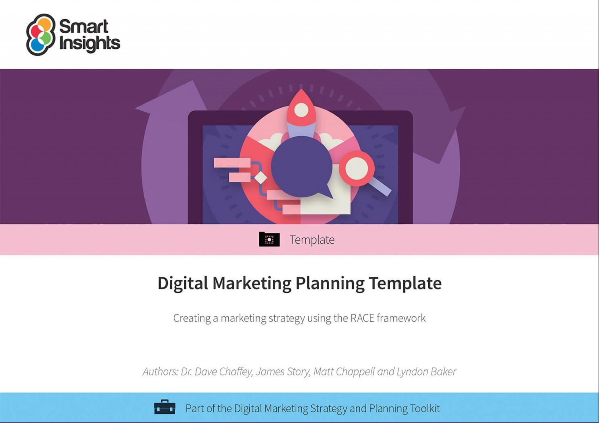008 Beautiful Digital Marketing Plan Template Word Highest Quality 1920