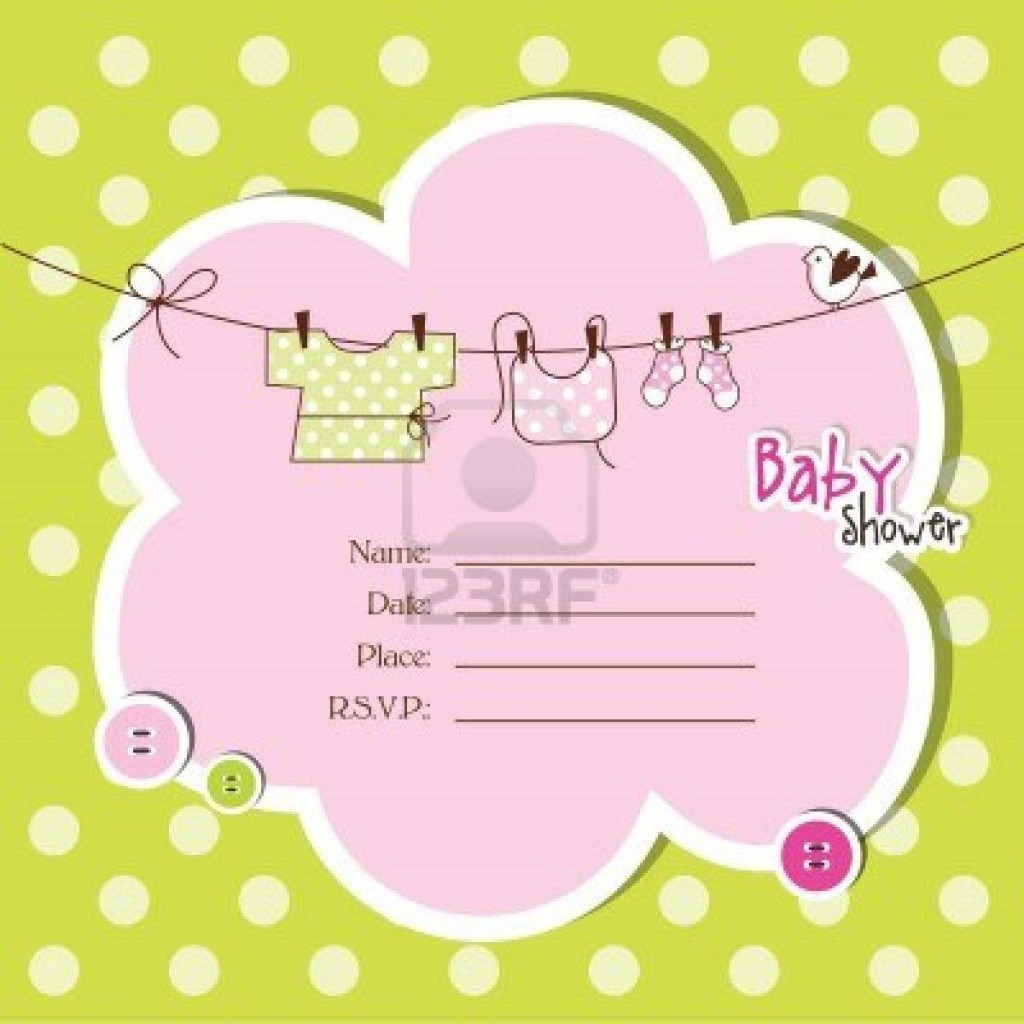 008 Beautiful Free Baby Shower Template For Powerpoint Sample  BackgroundLarge