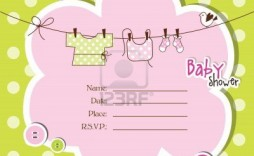 008 Beautiful Free Baby Shower Template For Powerpoint Sample  Background
