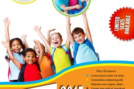 008 Beautiful Free Back To School Flyer Template Word Sample