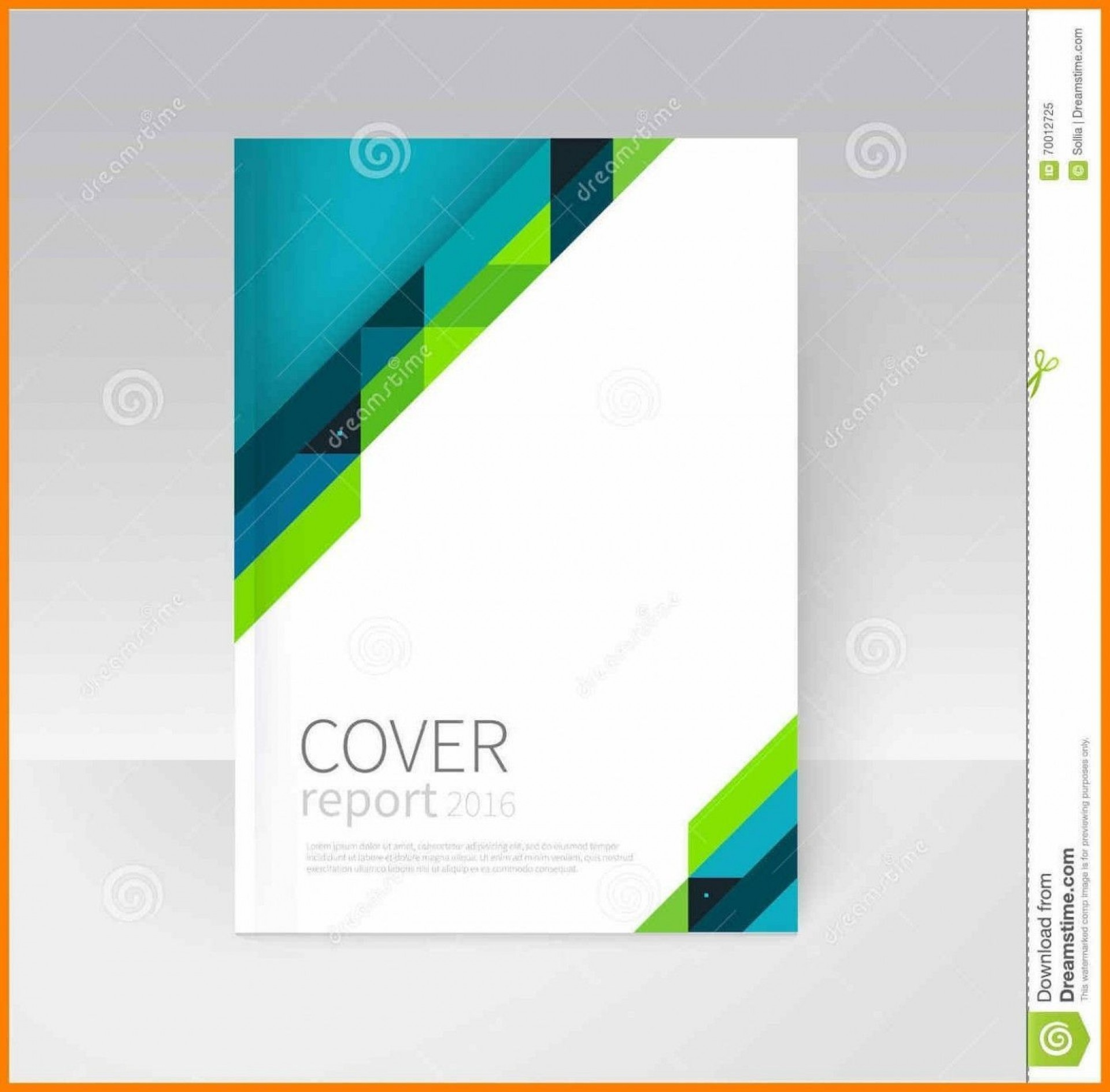 008 Beautiful Free Download Annual Report Cover Design Template Picture  In Word Page1920