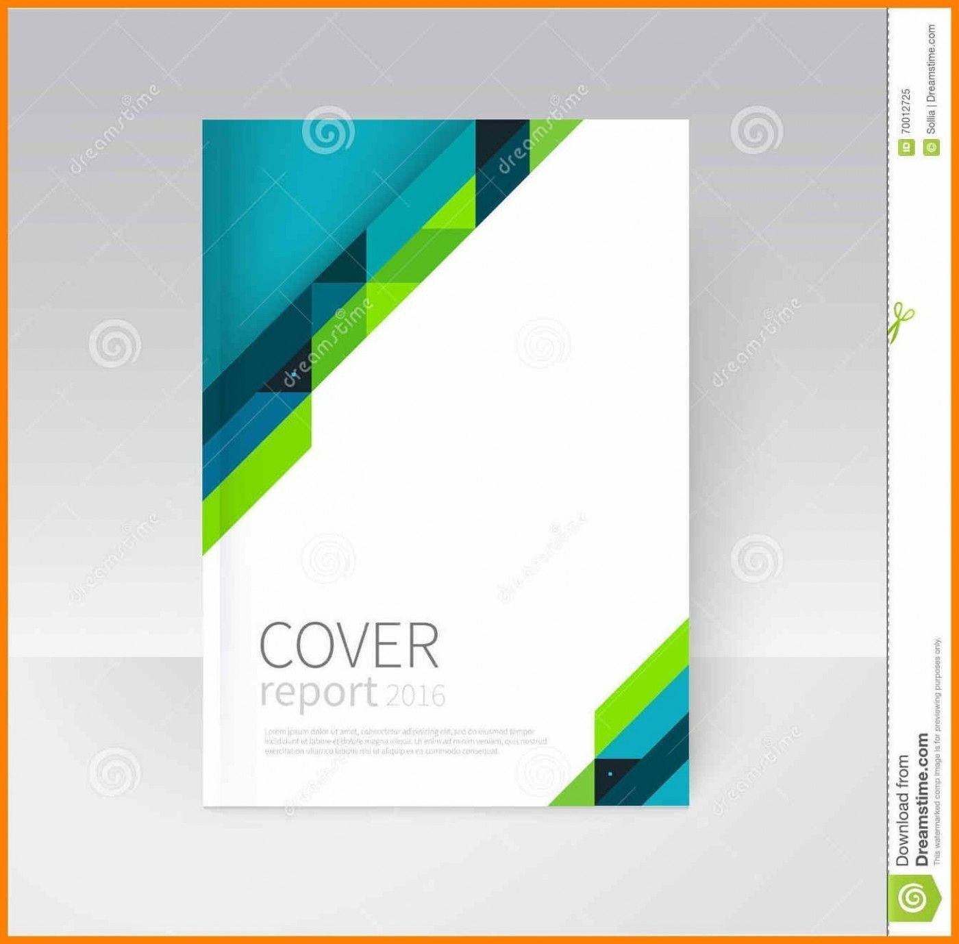 008 Beautiful Free Download Annual Report Cover Design Template Picture  Page In WordFull