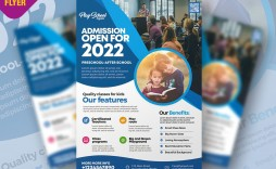 008 Beautiful Free School Flyer Design Template Concept  Templates Creative Education Poster