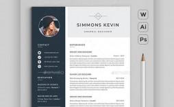 008 Beautiful Free Stylish Resume Template Idea  Templates Word Download