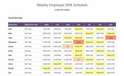 008 Beautiful Google Doc Employee Schedule Template Example  Weekly Work
