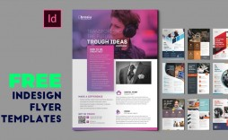 008 Beautiful In Design Flyer Template Picture  Indesign Free Adobe Download