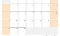 008 Beautiful June 2020 Monthly Calendar Template Inspiration