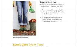 008 Beautiful Microsoft Office Flyer Template Idea  Templates Christma Party