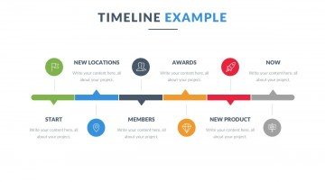 008 Beautiful Powerpoint Timeline Template Free Download Highest Clarity  History360