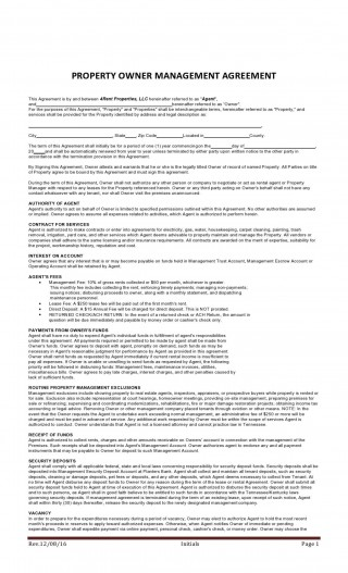 008 Beautiful Property Management Contract Template Uk Design  Free Agreement Commercial320
