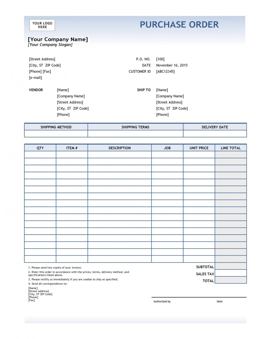 008 Beautiful Purchase Order Template Free Idea  Log Tracking Excel Microsoft Acces