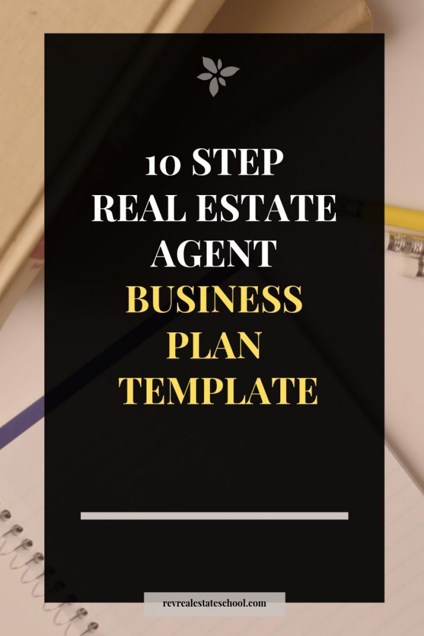 008 Beautiful Real Estate Busines Plan Template High Def  Example Free Investor868