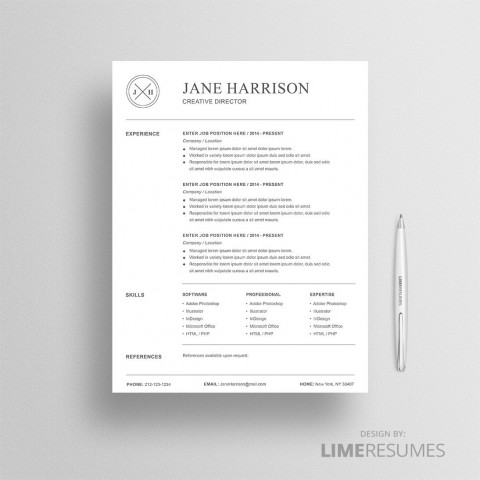 008 Beautiful Resume Reference List Template Microsoft Word High Resolution 480